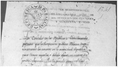 La educación en Paraguay cuando Artigas residía en Asunción: la Academia Literaria