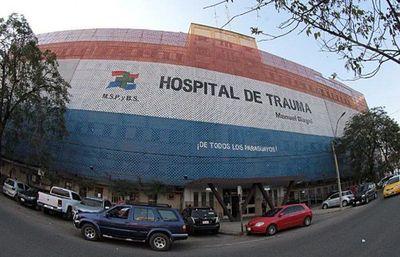Adolescente de 16 años sufre una descarga en Hospital de Trauma