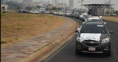 Realizan caravana por la liberación de los secuestrados por el EPP