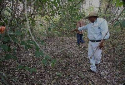 Nativos Pâi Tavyterâ hallan campamento abandonado y dicen que FTC les ignora