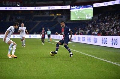 PSG perdió el clásico ante Marsella y Neymar fue expulsado