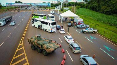 FF.AA. del Brasil realiza la operación AGATA en la FRONTERA