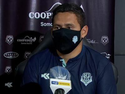Las sensaciones de Víctor Cabrera tras la goleada a San Lorenzo