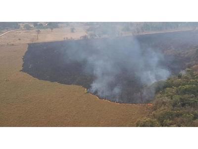 Polución por grandes focos de incendio