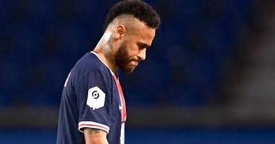 La Nación / Neymar fue expulsado