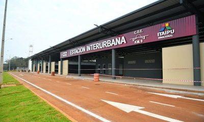 Estación Interurbana de CDE próxima a inaugurarse