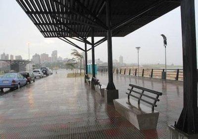 Jornada lluviosa y con ocasionales tormentas eléctricas, anuncia meteorología