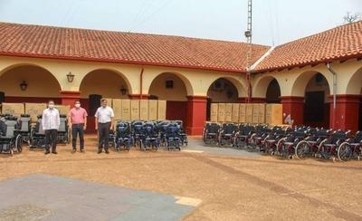 HOY / Taiwán dona 100 sillas de ruedas a la Gobernación de Paraguarí