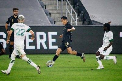 Con Cristian Paredes, Portland Timbers fue goleado por Los Angeles FC