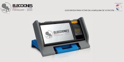 Habilitaron simulador para aprender a votar en la urna electrónica
