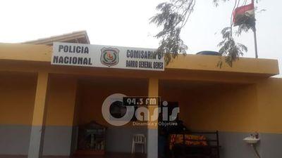 Delincuentes se fugan de la comisaría 6ta de Pedro Juan