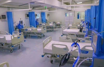 Ocupación de camas de terapia llegó al 100% el fin de semana