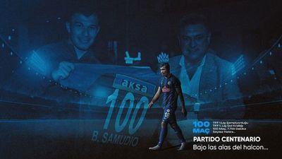 Braian Samudio: 100 partidos en el Rizespor