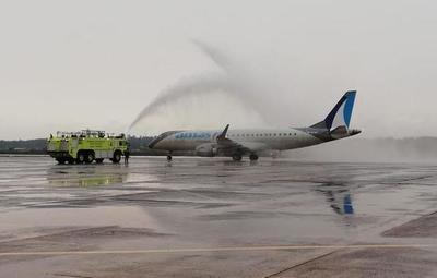 Llegó a nuestro país el primer vuelo burbuja