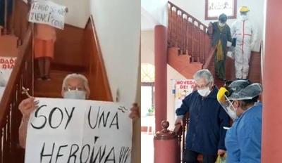"""HOY / Campeonas del hogar """"Santa Teresita"""" vencieron al Covid-19"""