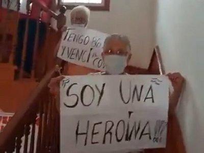 Con más de 80 años, las abues del hogar Santa Teresita superaron el coronavirus