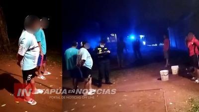 SIETE PERSONAS APREHENDIDAS POR TRANSGRESIÓN AL DECRETO PRESIDENCIAL