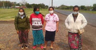 La Nación / Indígenas de Paso Barreto están dispuestos a aceptar víveres por libertad de secuestrados