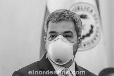 Marito firmó el decreto que oficializa la cuarentena social para el departamento de Concepción ante aumento de casos de Covid19