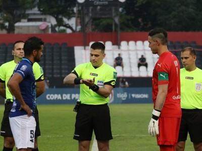 Cambio en la designación de árbitros para el juego Cerro Porteño vs. Nacional