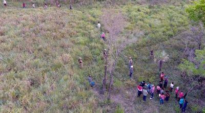 Indígenas reingresaron al monte tras los secuestrados