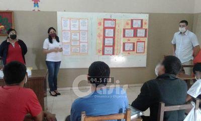 Continúa ciclo de capacitaciones para Adolescentes del Centro Educativo de Pedro Juan