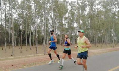 Paraguayos corrieron Maratón de Boston, desde Ñu Guasú