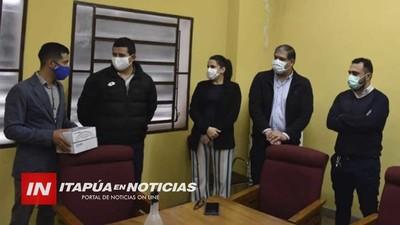 HRE RECEPCIONÓ DONATIVO DE U$S 31.000 EN EQUIPOS