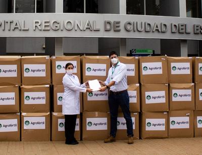 Donan equipos de bioseguridad al Hospital Integrado Respiratorio