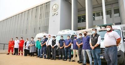 La Nación / Itaipú reforzó personal para servicio de ambulancias con UTI en Alto Paraná
