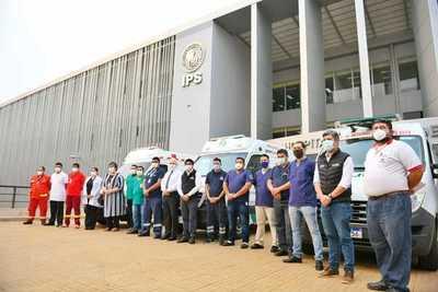 Se incorporan más recursos humanos para servicio de ambulancias
