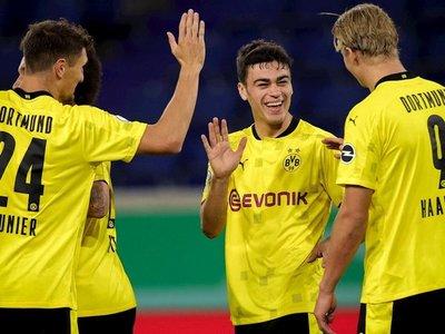 El Dortmund supera la primera ronda de la Copa de Alemania