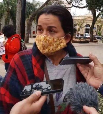 Myrian Villalba pide refugio político para ella y su familia a la Argentina por temor al Gobierno