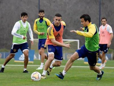 """Boca podrá jugar con """"positivos"""" ante Libertad"""