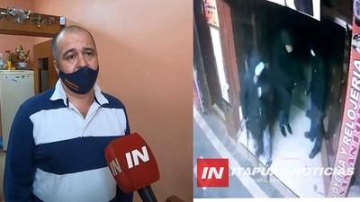 «HETAITEMA CHE RASĒ», LAMENTA JOYERO VÍCTIMA DE MILLONARIO HURTO