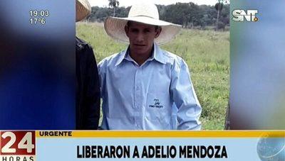 El EPP libera a Adelio Mendoza