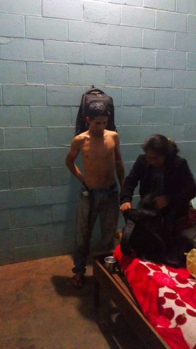 Adelio Mendoza recibió inmediata asistencia tras ser liberado