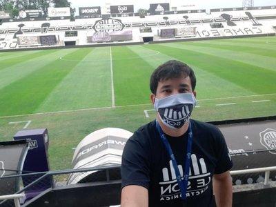 De profesor de guaraní a ser la voz del estadio