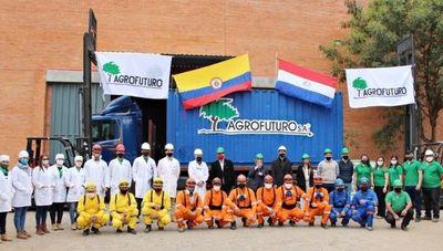 Industria nacional concreta exportación de 10.000 litros de insecticida a Colombia y espera crecer 10%