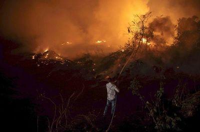 Los fuegos en el Pantanal obligan  a accionar el estado de calamidad
