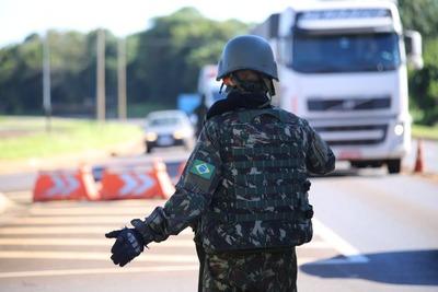 Ágata: Brasil refuerza controles de vehículos y personas en la frontera
