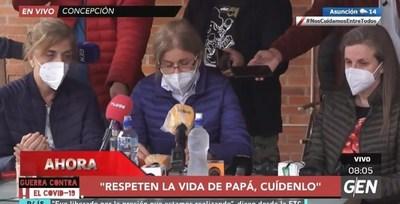 """""""Fuerza que papá"""", el clamor de las hijas de Denis que piden el retiro de la FTC de la zona"""