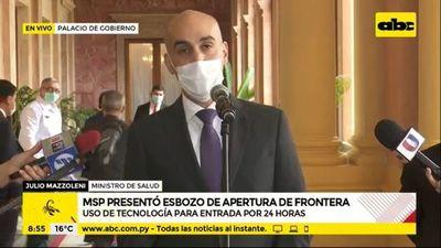 Presentan protocolo para apertura controlada de frontera con Brasil