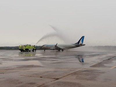 Paraguay recibe desde Uruguay el primer vuelo comercial tras inicio de la pandemia