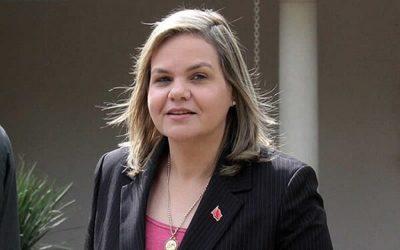 Senadora Samaniego confirma que dio positivo a Covid-19