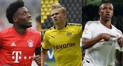 HOY / Ansu Fati, Vinicius, Davies y Haaland entre los 40 finalistas al Golden Boy