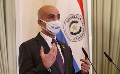 Ministro de salud presentan protocolo para una apertura parcial de frontera