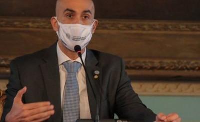 Mazzoleni presentó protocolo para apertura del Puente de la Amistad