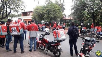 Manifestantes exigen cambio de carátula en el caso de delivery •