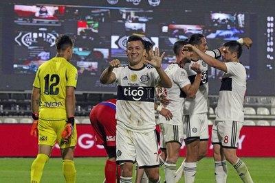 Sin dos titulares claves, el once de Olimpia para el duelo copero ante Santos